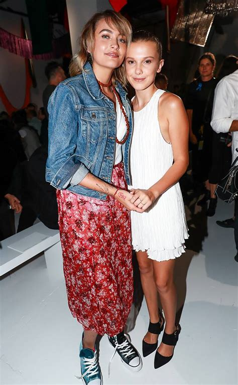 Paris Jackson from Models With Famous Parents at NYFW | E